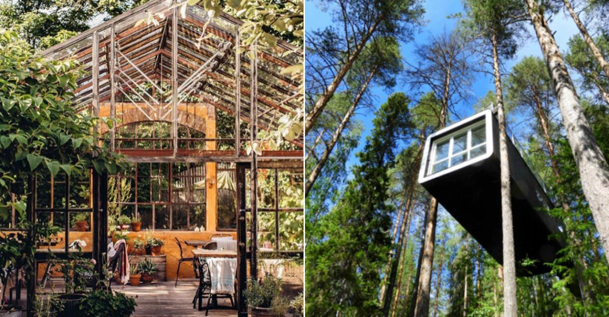 Mellby Klockargård och The Treehotel