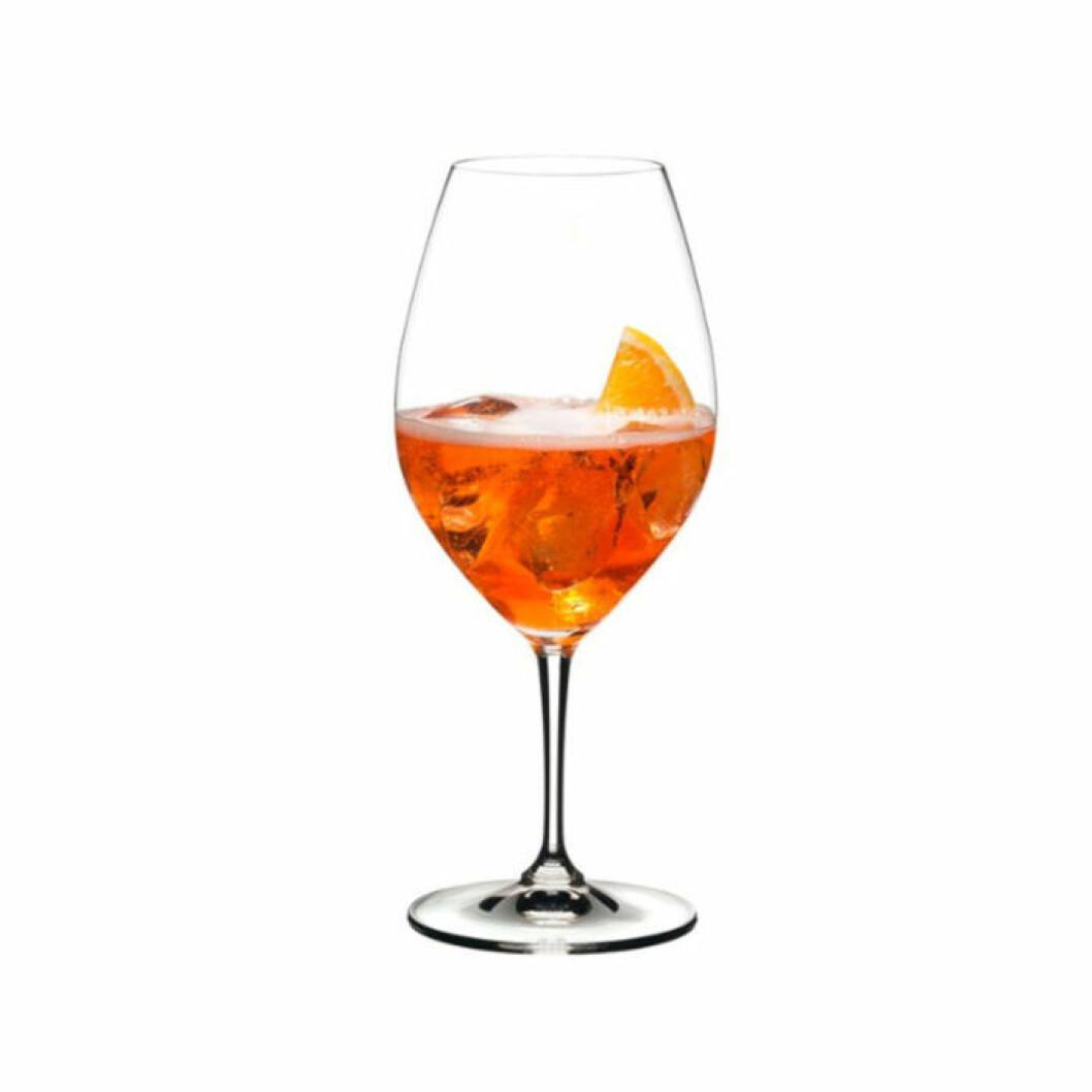 Klassiskt glas för aperol