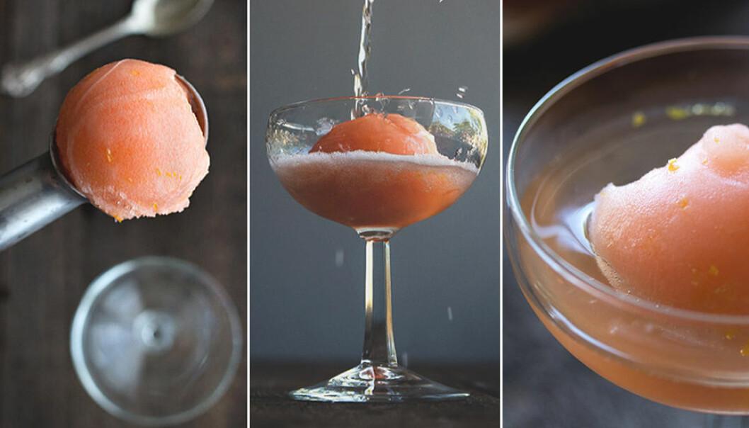 Aperol spritz-sorbet – recept