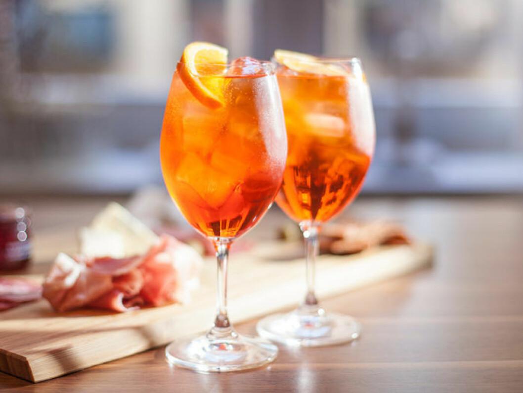 Aperol Spritz är Italiens populäraste drink.