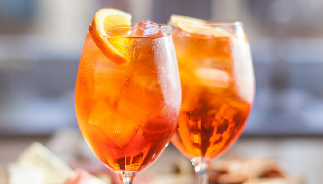 Aperol Spritz passar perfekt som fördrink!
