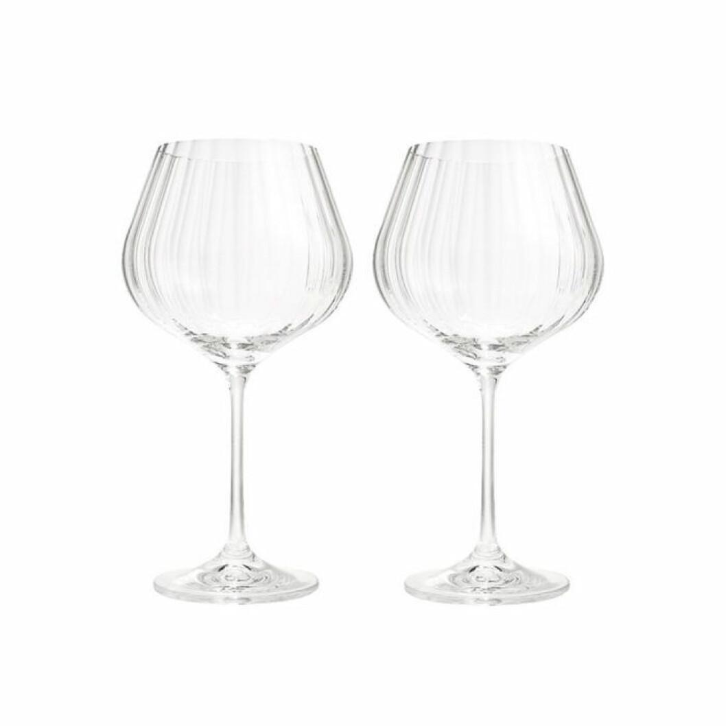 Snyggt glas som passar till aperol