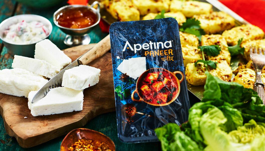 Apetina lanserar paneer-ost i butik!