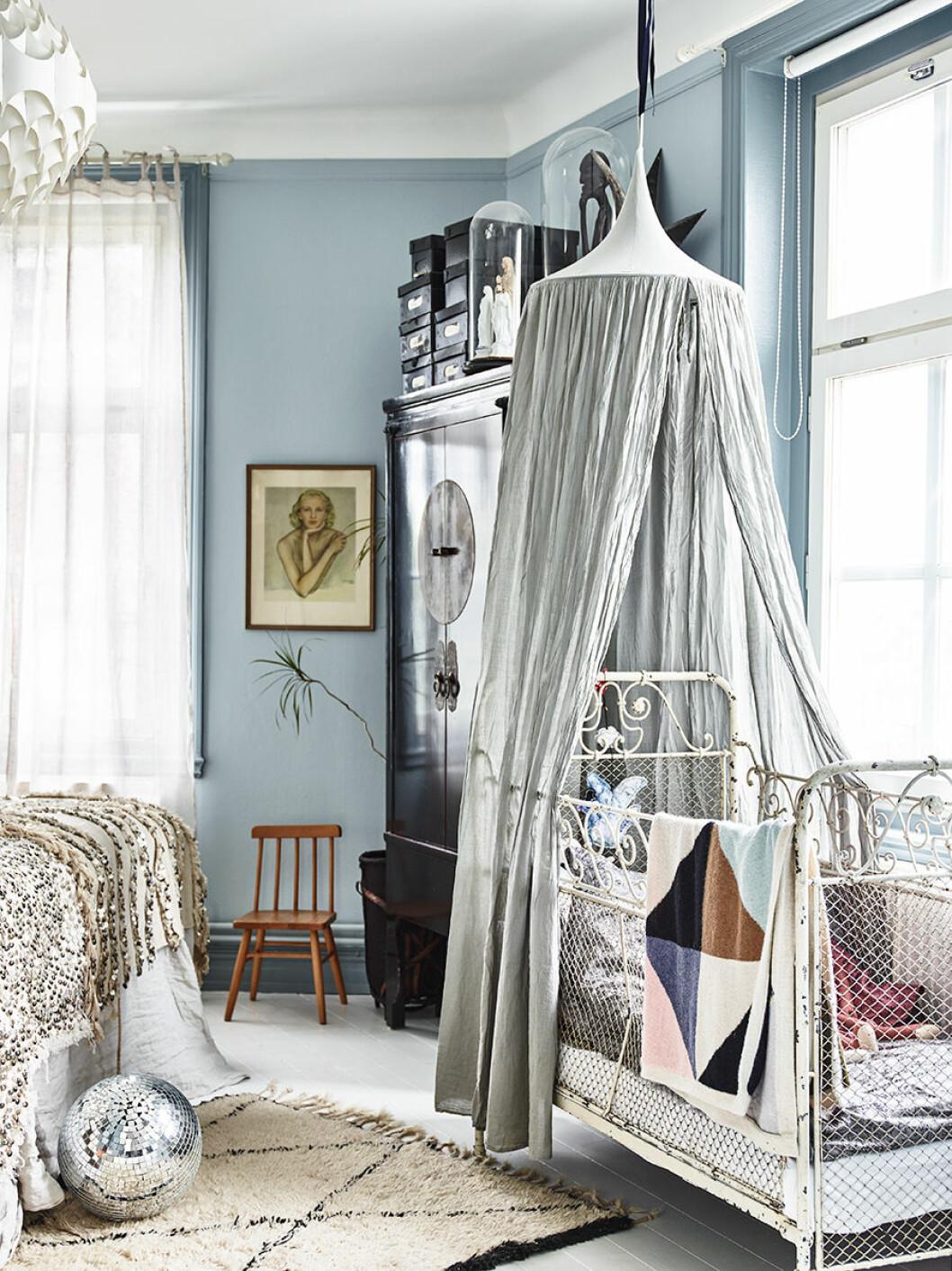 Karolina Vertus vill att hemmet ska kännas lugnt och rogivande.