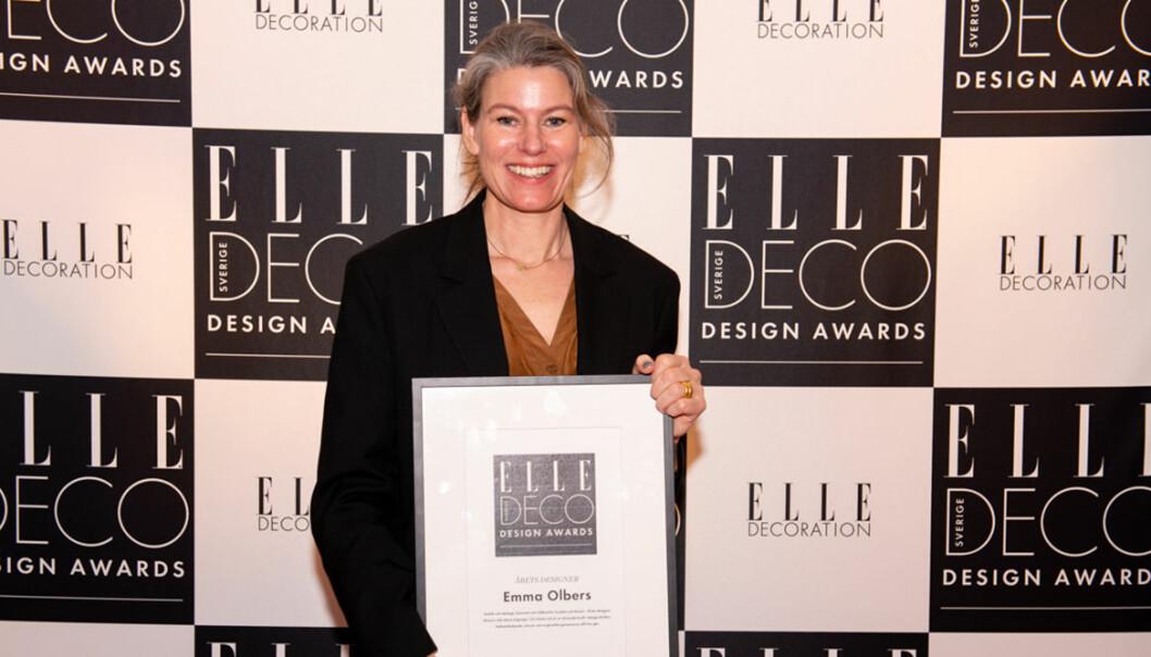 ELLE Deco Design Awards 2020: Emma Olbers vann Årets designer