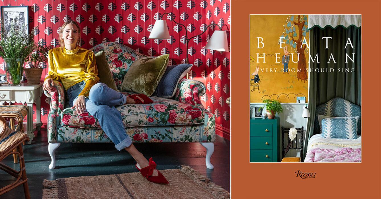 Beata Heuman är årets inredare 2021 i ELLE Deco Design Awards