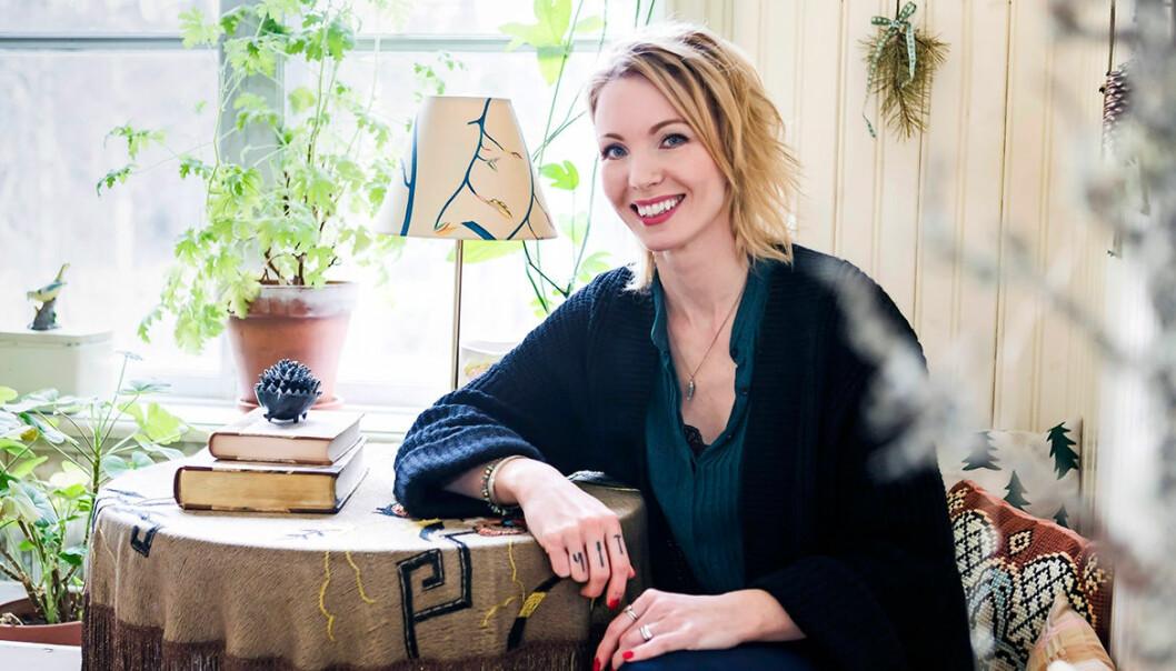 Erika Åberg är Årets inspiratör 2019.