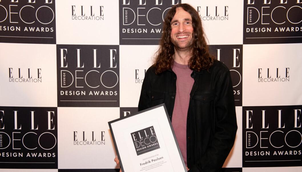ELLE Deco Design Awards 2020: Fredrik Paulsen vann Årets inspiratör