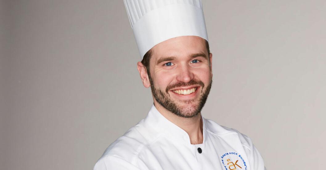 Årets kock 2018, David Lundqvist sätter råvarorna i centrum.