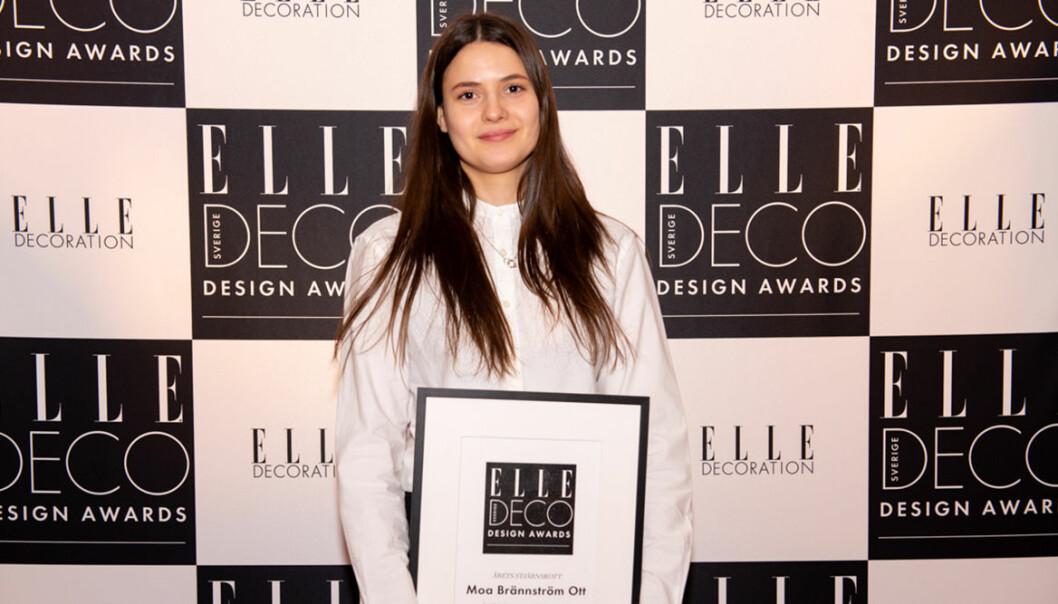 ELLE Deco Design Awards 2020: Moa Brännström Ott vann Årets stjärnskott