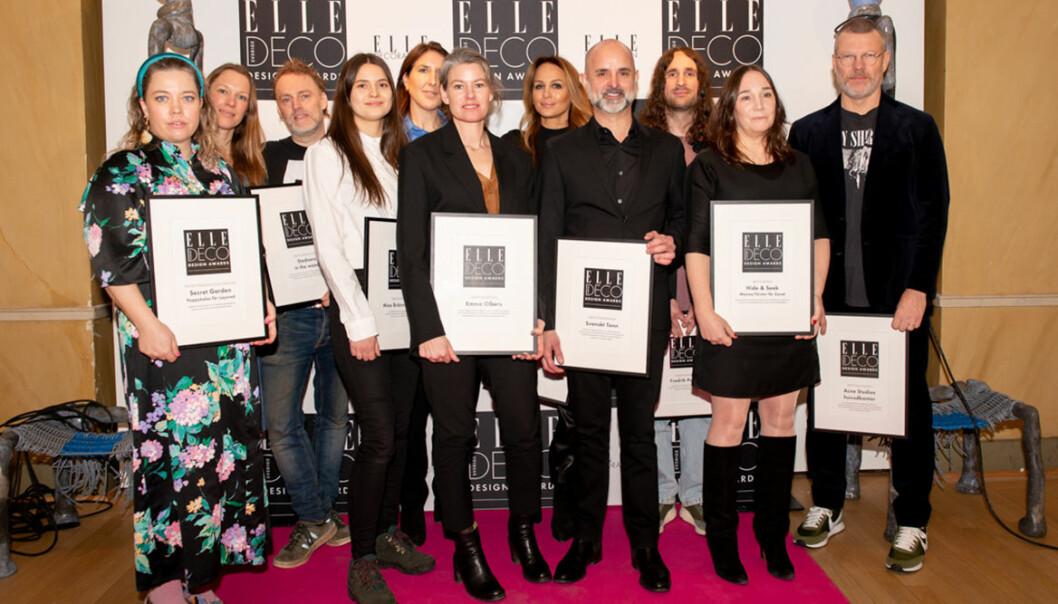 Årets vinnare på ELLE Deco Design Awards 2020