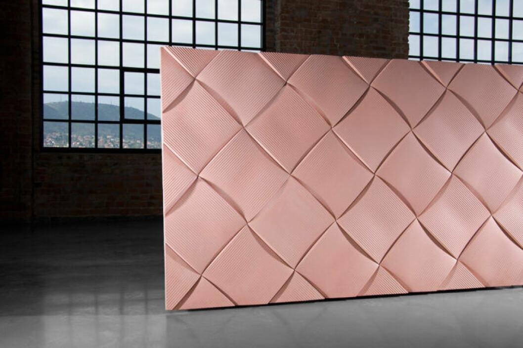 Keramikplattor Weave, Note Design Studio, Kaza Concrete
