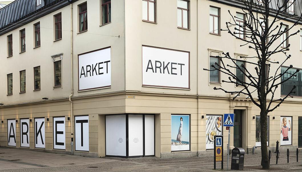 Nu öppnar Arket ytterligare en butik.