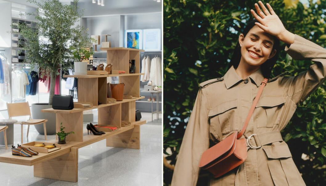 Arket lanserar återvinning av mode och skor