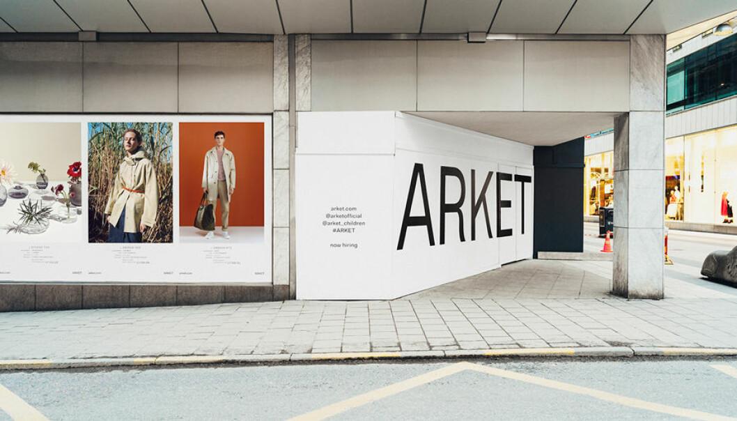 Arket öppnar sin första butik i Sverige.
