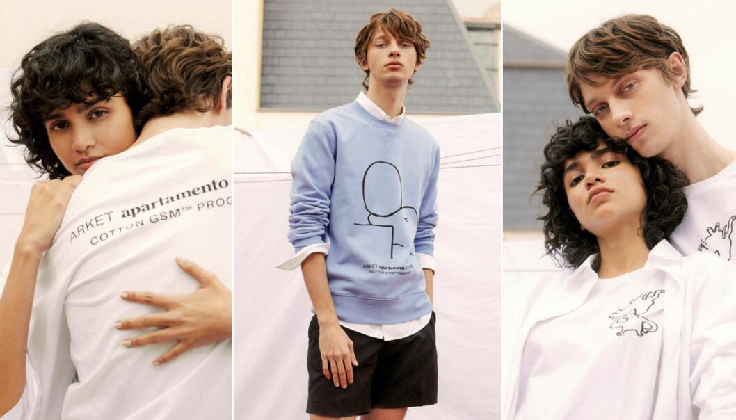 Arket lanserar limiterad tröjkollektion i samarbete med Apartamento magazine