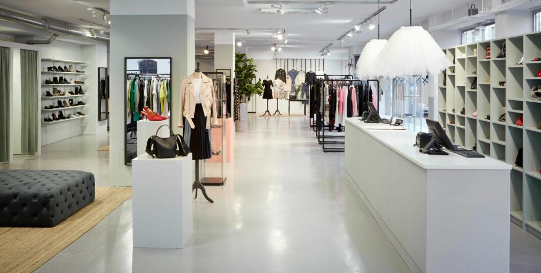 Arkivets nyöppnade butik på Östermalm i Stockholm