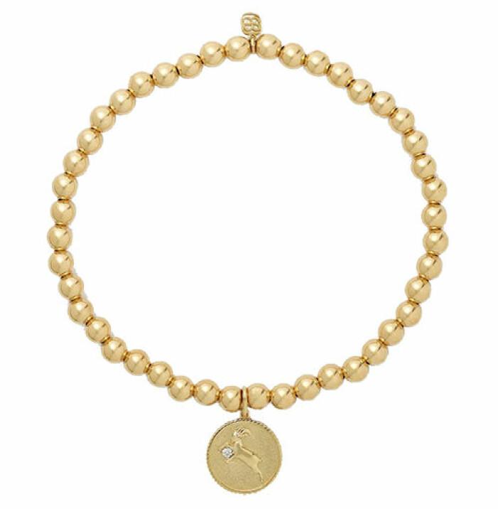 armband med stjärntecken zodiac guld