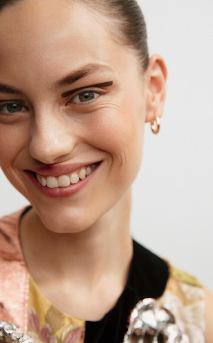 Art déco-inspirerad eyeliner