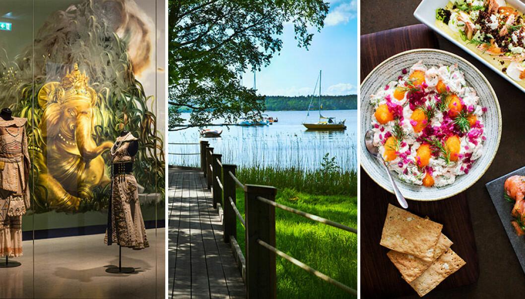 Artipelag erbjuder konst, vacker natur och god mat.