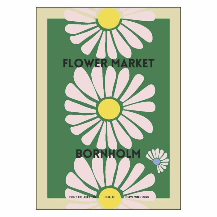 Färgstarka shoppingtips för vardagsrummet, poster från Astrid Wilson