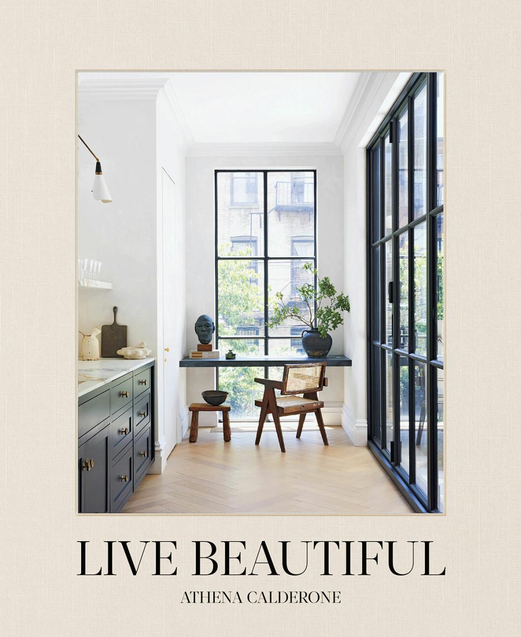 Athena Calderone eyeswoon inredningsbok live beautiful