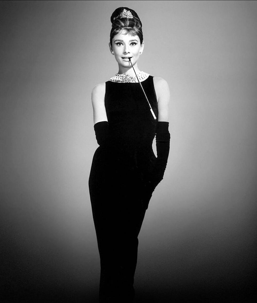 Audrey Hepburn i Breakfast at tiffanys
