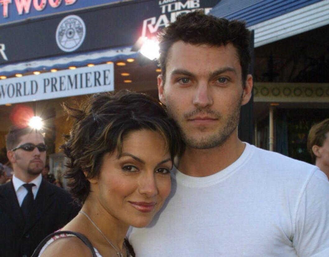 Vanessa Marcil och Brian Austin Green.