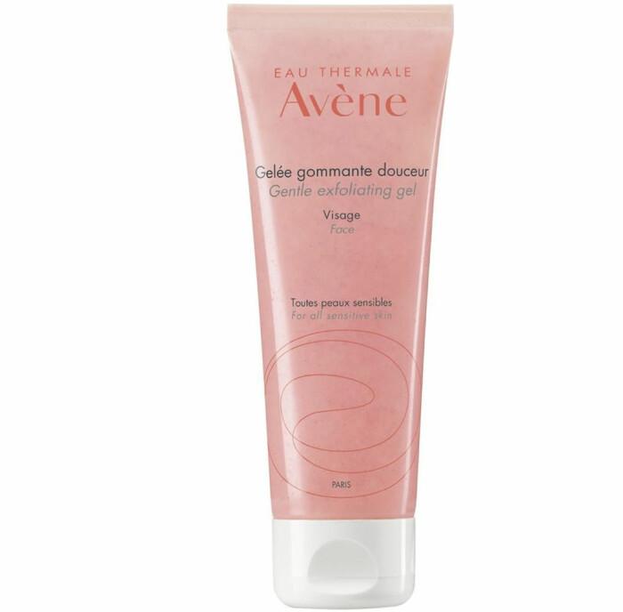 Avènes Gentle exfoliating gel ansiktsskrubb bästa med korn