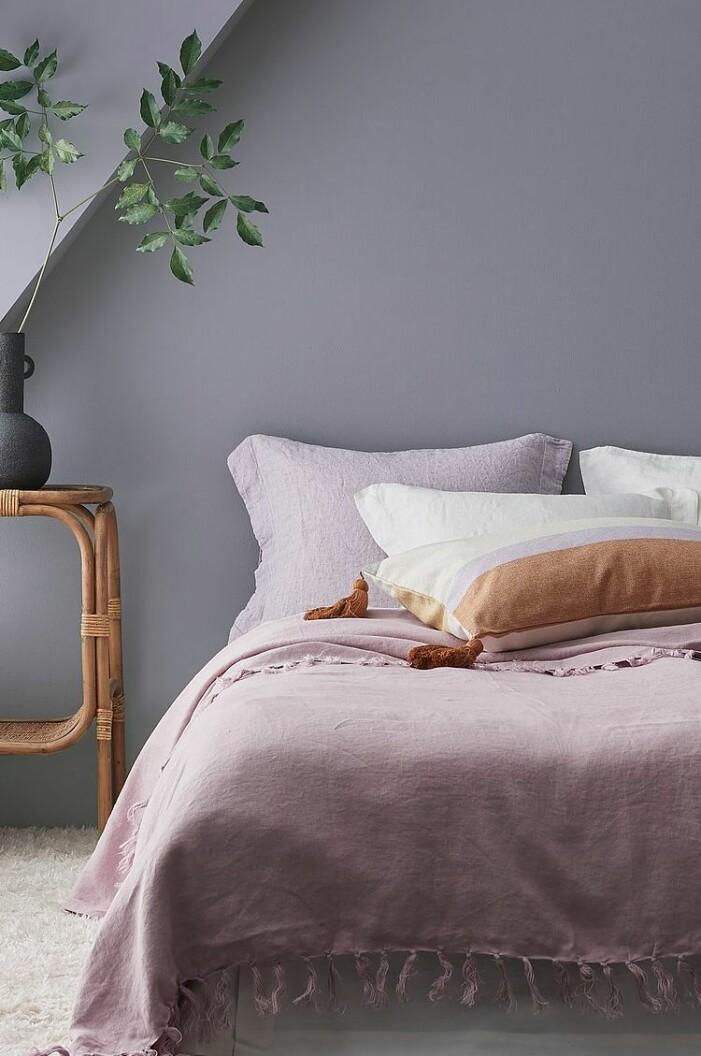 bädda sängen pastell inspiration