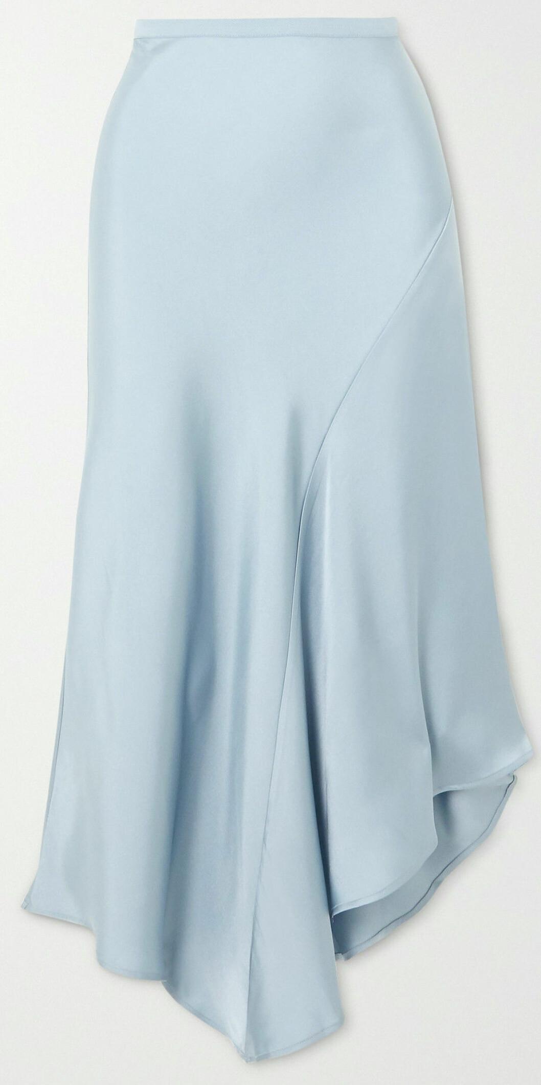 Babyblå kjol från Anine Bing.