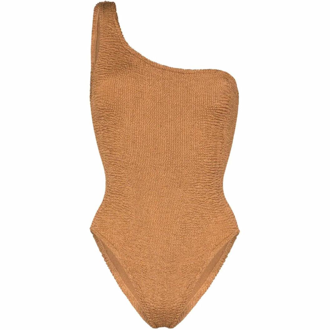Baddräkt i one shoulder-modell från Hunza