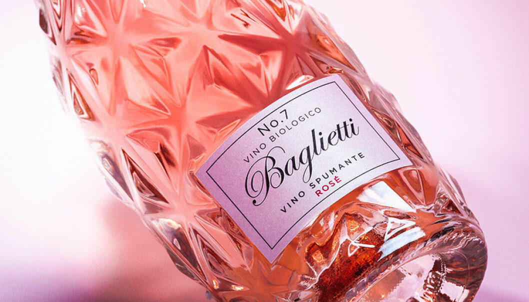 Baglietti lanserar exklusivt mousserande i vackra flaskor.