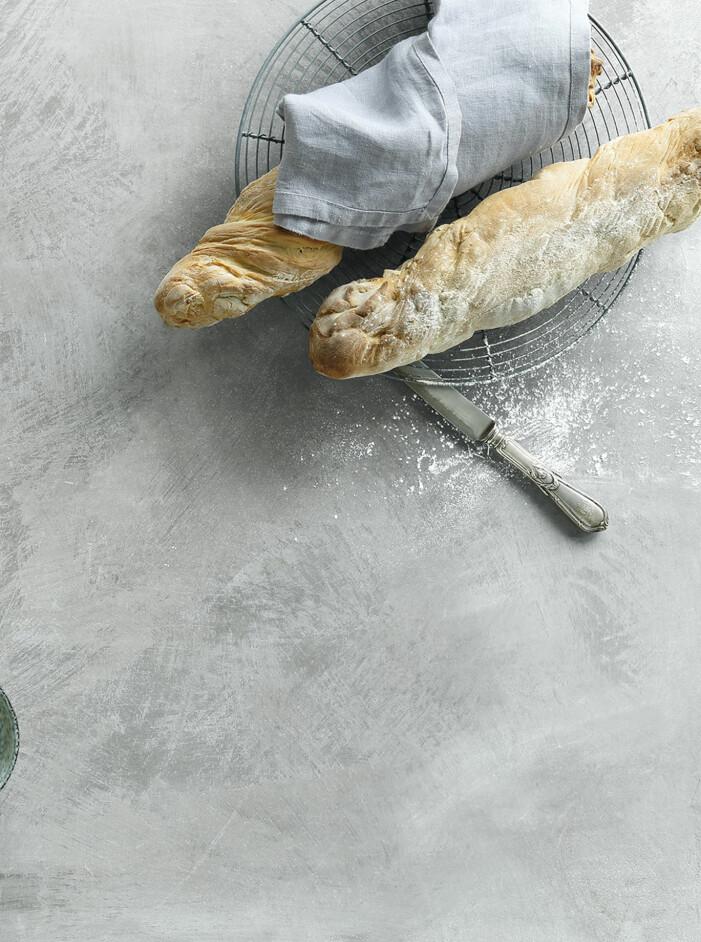Recept på hembakade baguetter