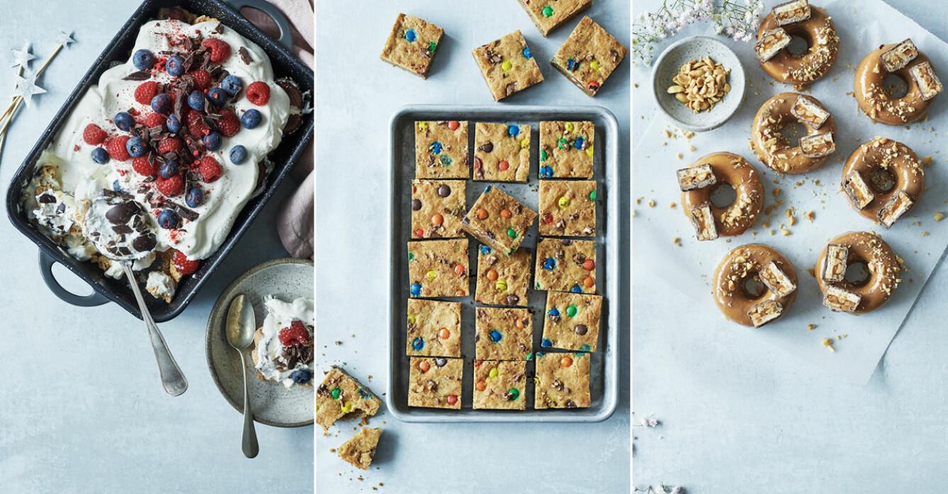 4 recept att baka med godis