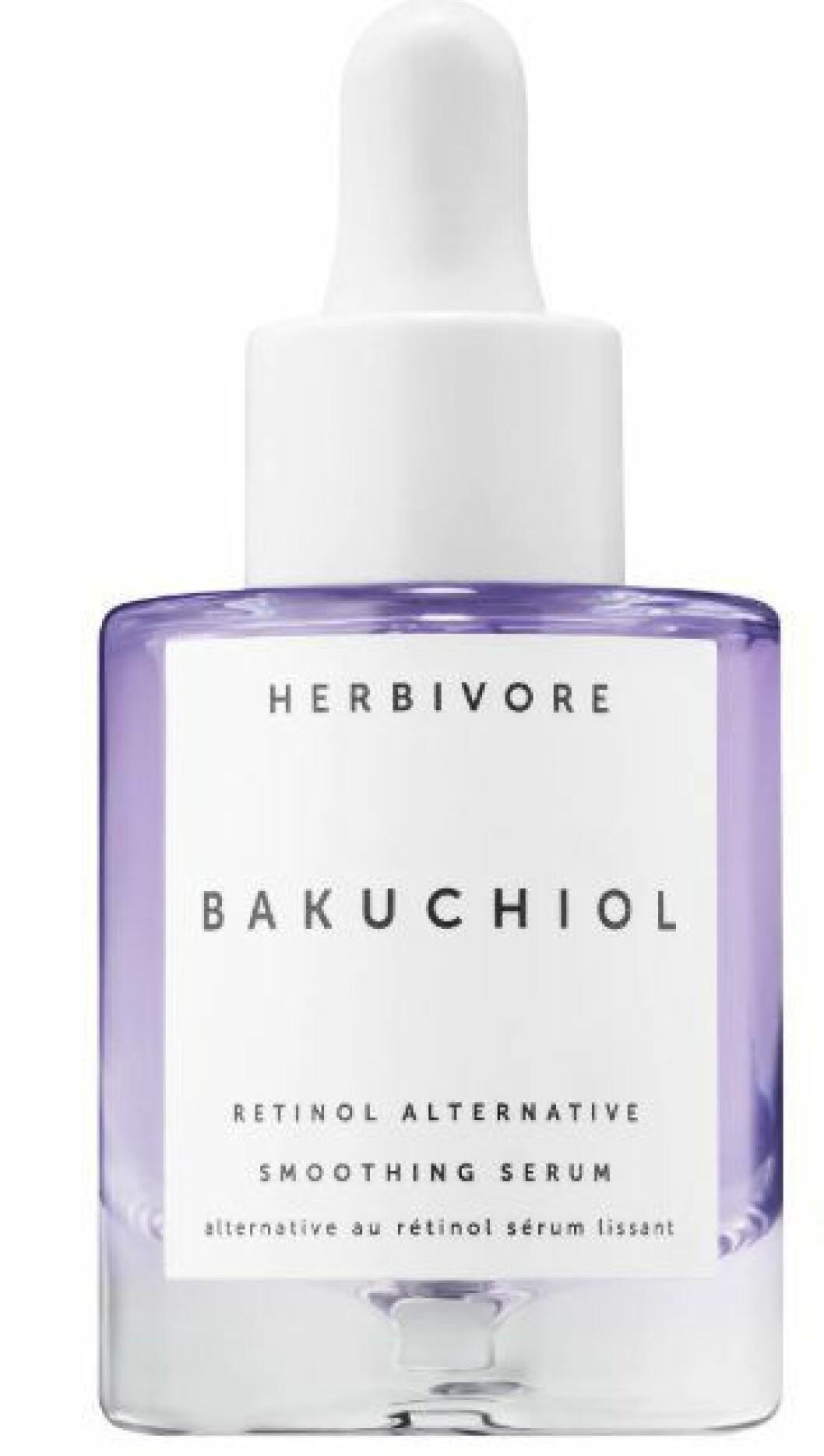 Herbivores Bakuchiol retinol alternative smoothing serum