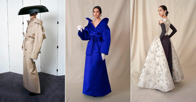 Balenciaga couture 2021