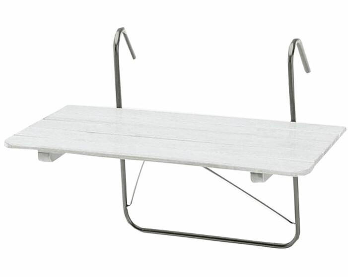hängande balkongbord