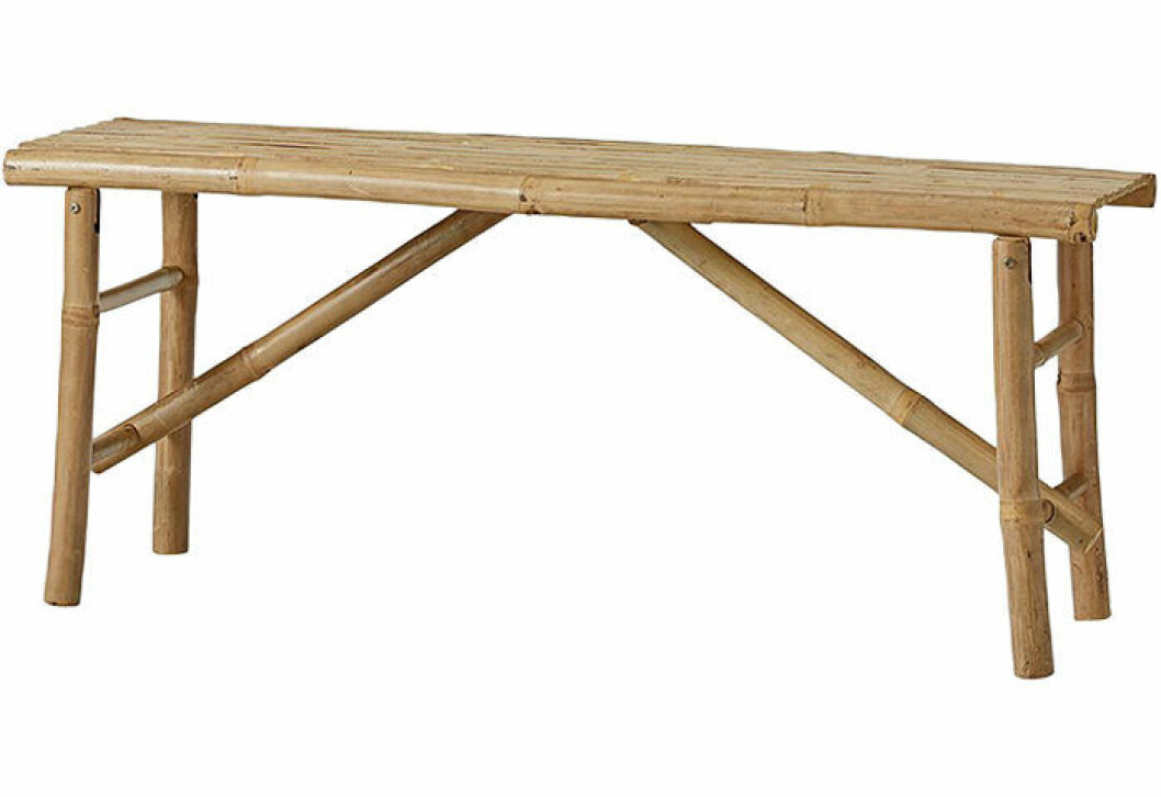 praktisk bambubänk