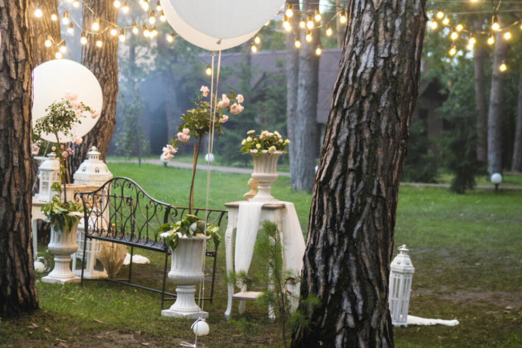 Dekorera med ballonger bröllop