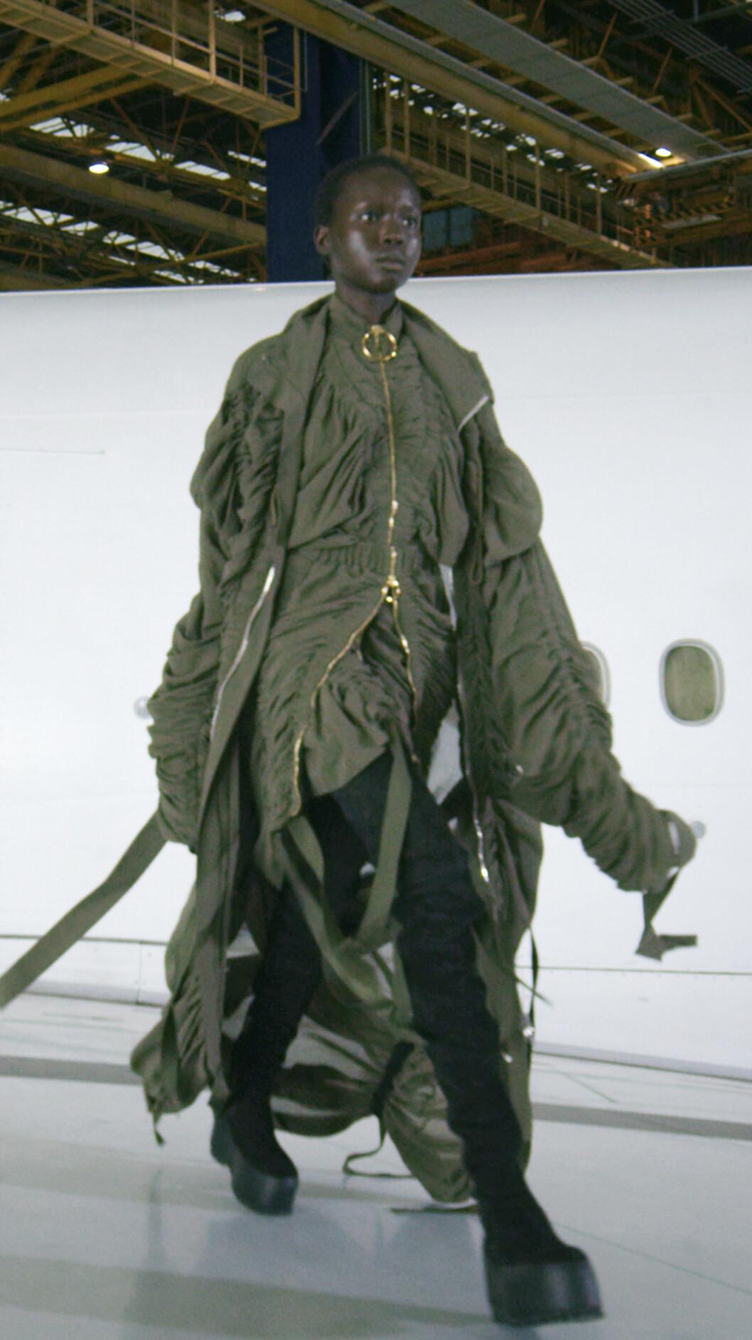 Armygrön jacka, Miltärjacka