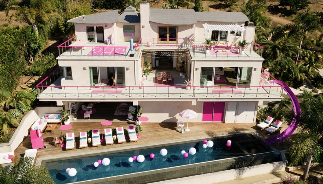 Barbies Malibu dreamhouse finns nu att hyra på Airbnb - kika in!