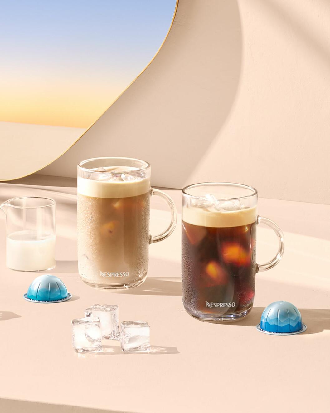 Iskaffe från Nespresso
