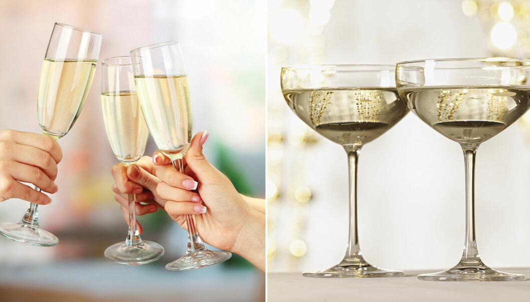 Vilka champagneglas är bäst? Flöjtglas eller coupeglas?