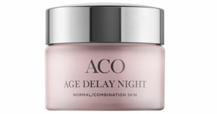 bästa nattkräm niacinamid aco age delay night recension