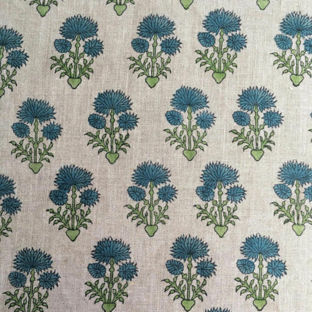 Handtryckt textil från Bastidaux