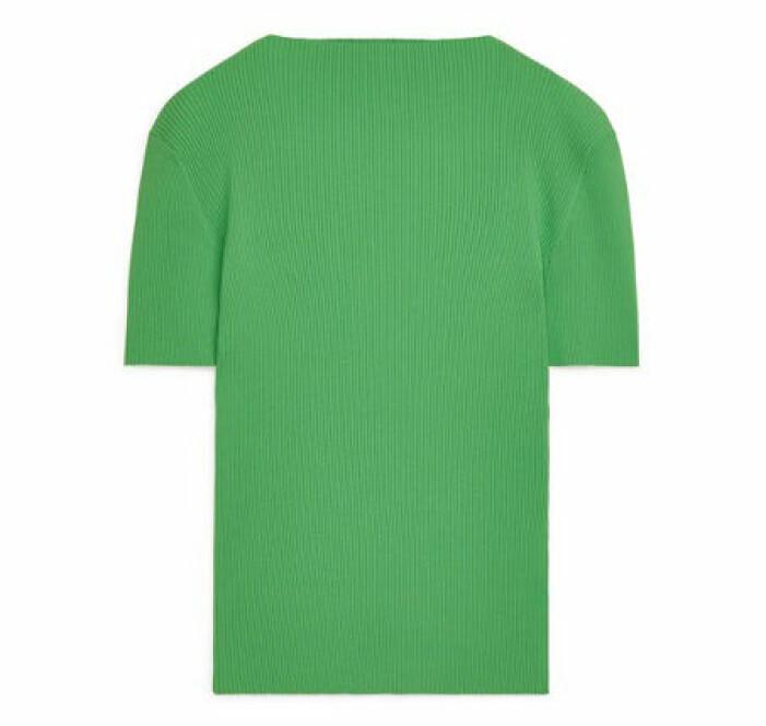grön båtringad topp