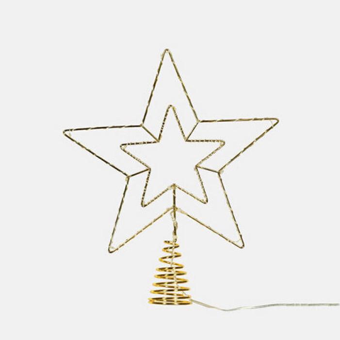 Batteridriven julstjärna, Åhléns