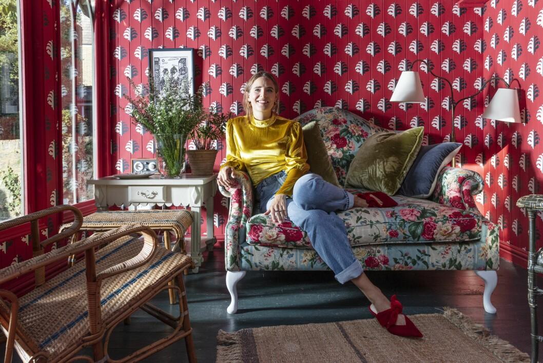 Hemma hos Beata Heuman som vann Årets Inredare på ELLE Deco Design Awards 2021 garden house