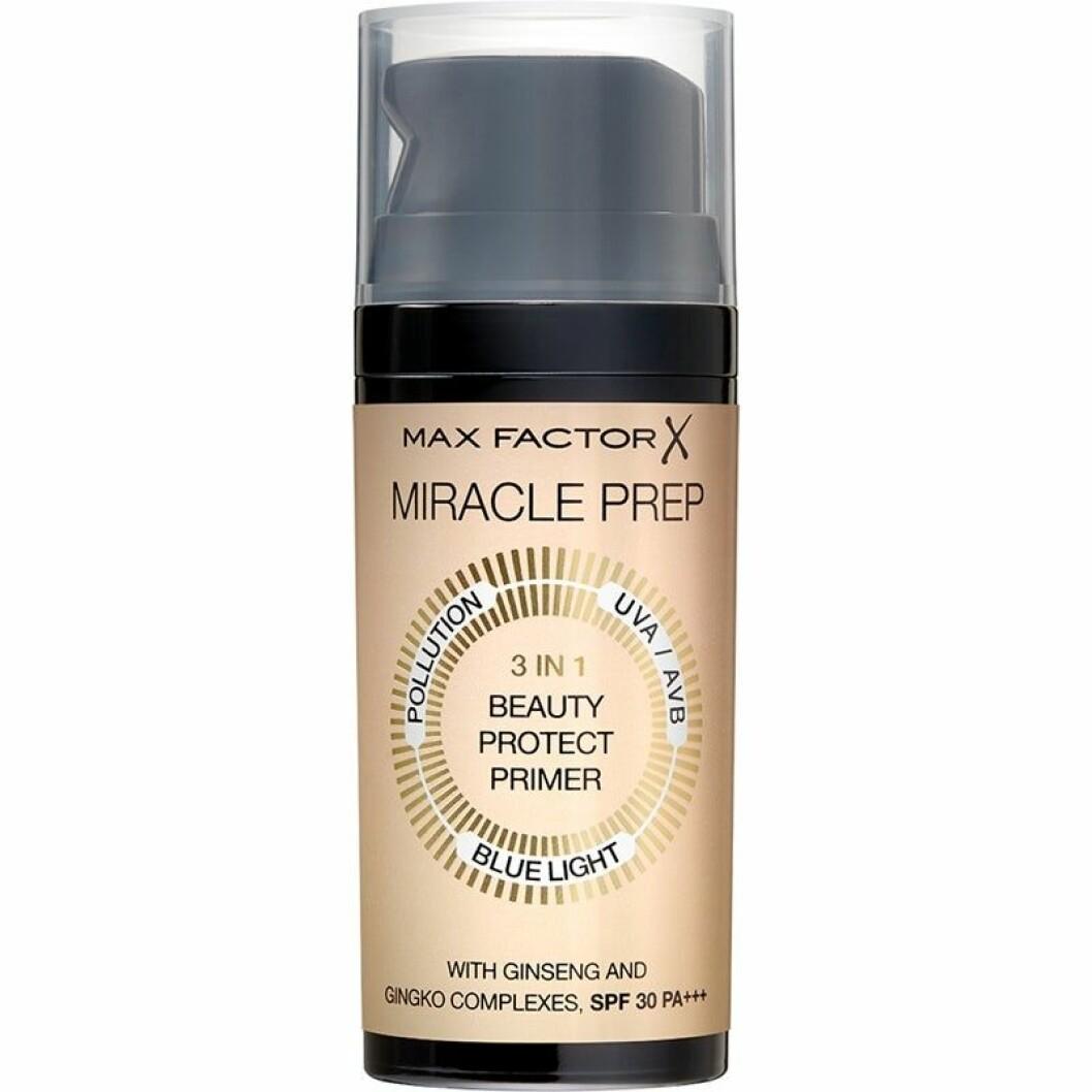 Miracle prep beauty protect primer från Max Factor.